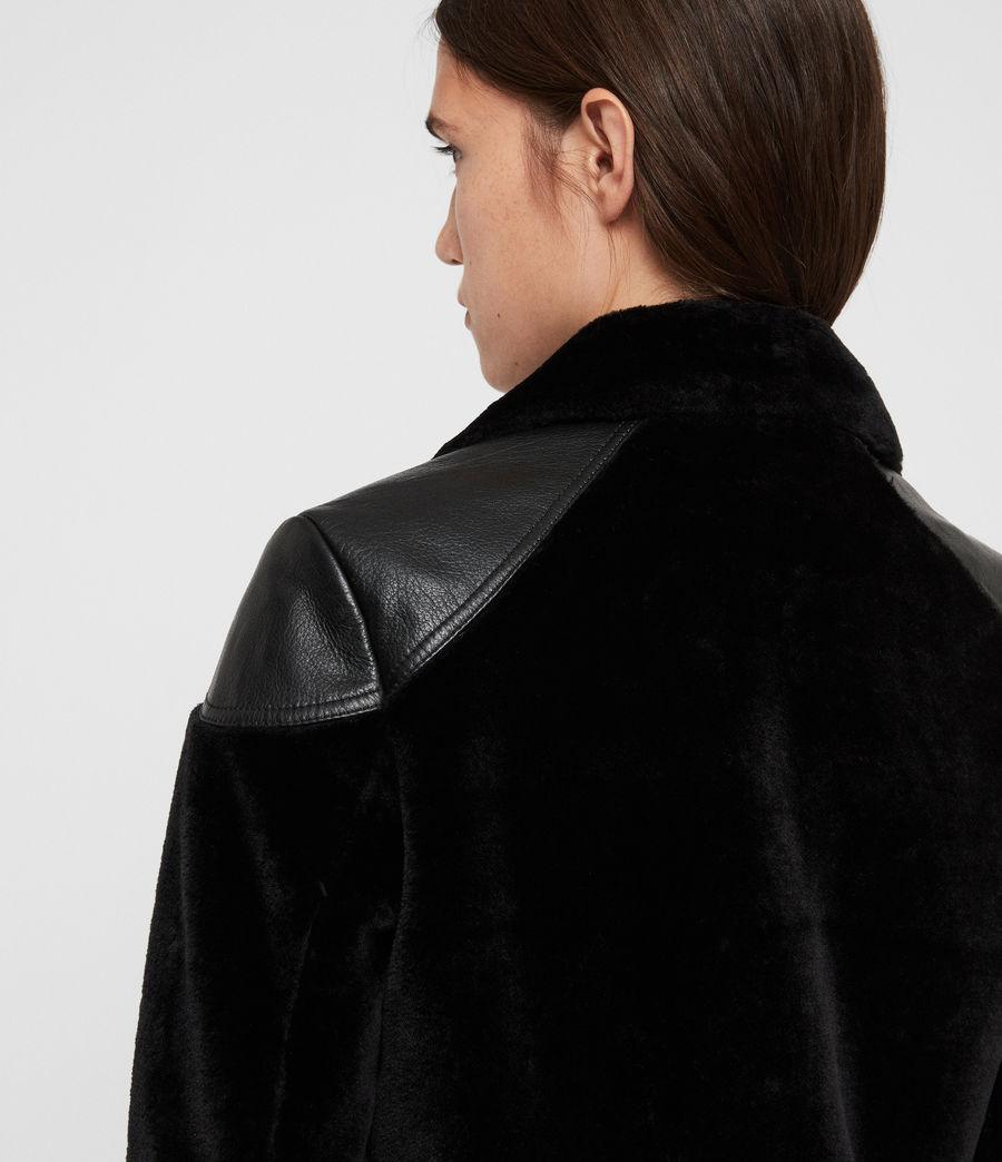 Donne Giacca Biker Zola Lux (black) - Image 6