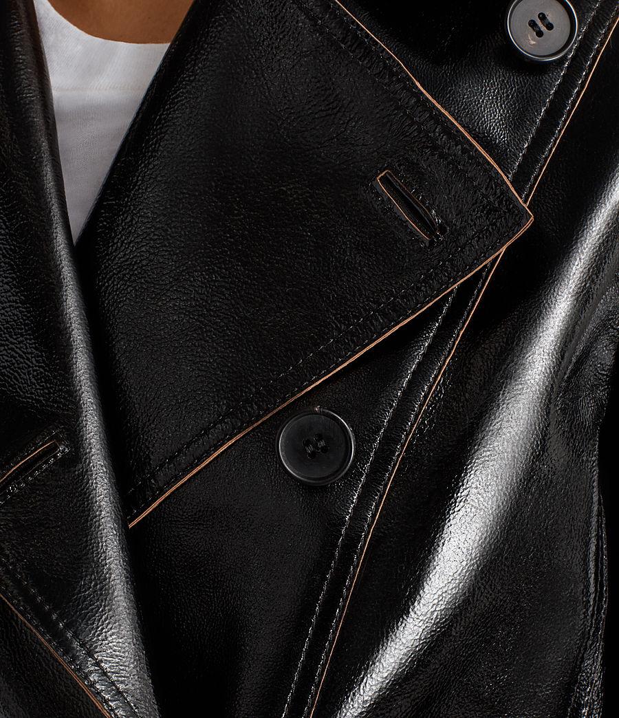 Mujer Blazer de piel Deebee Payton (black) - Image 6