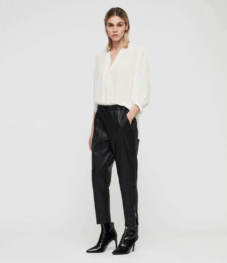 Women's Tinsley Trousers (black) - Image 1