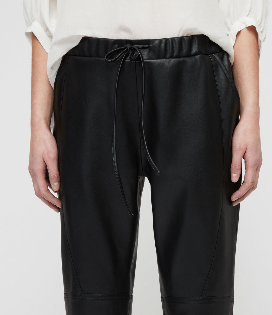 Women's Tinsley Trousers (black) - Image 2