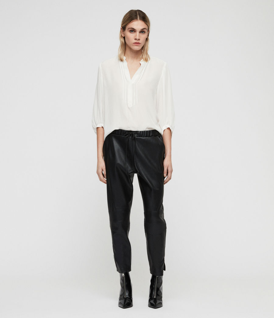 Women's Tinsley Trousers (black) - Image 3