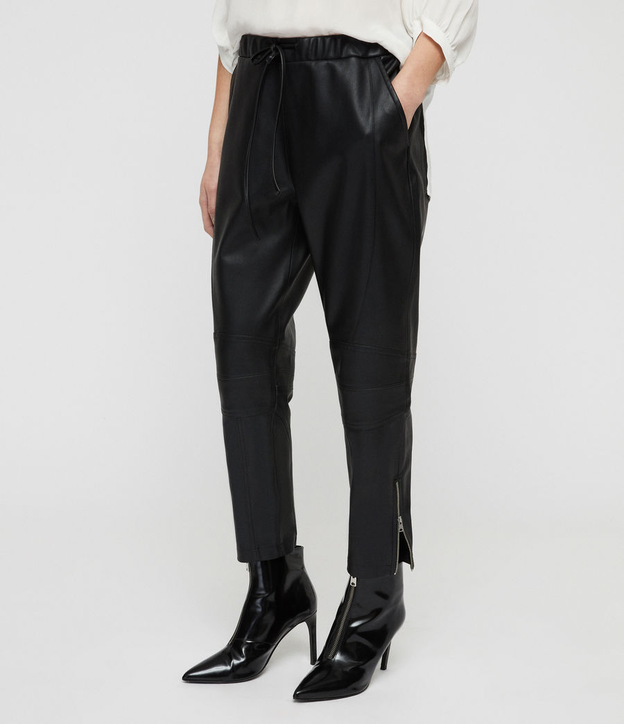 Women's Tinsley Trousers (black) - Image 4
