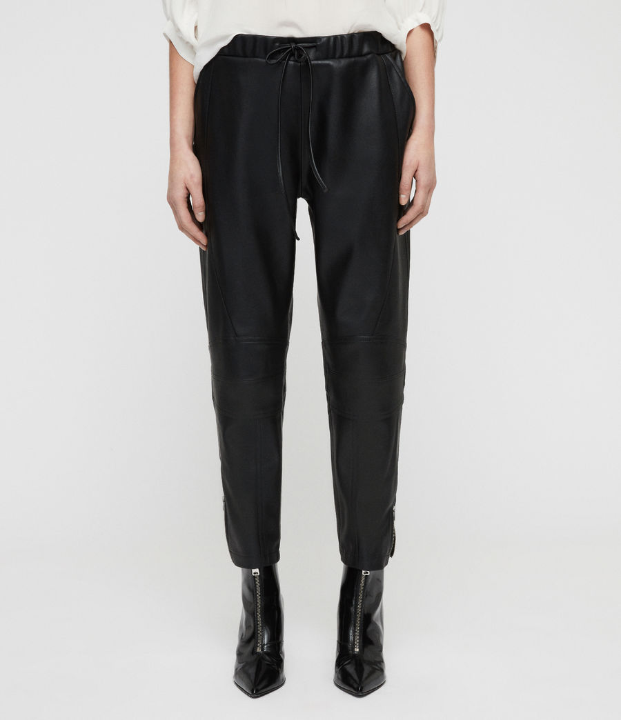 Women's Tinsley Trousers (black) - Image 5