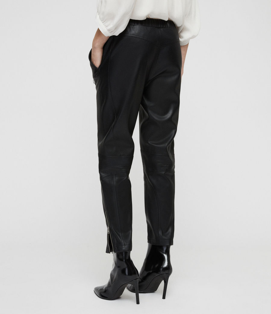 Women's Tinsley Trousers (black) - Image 6