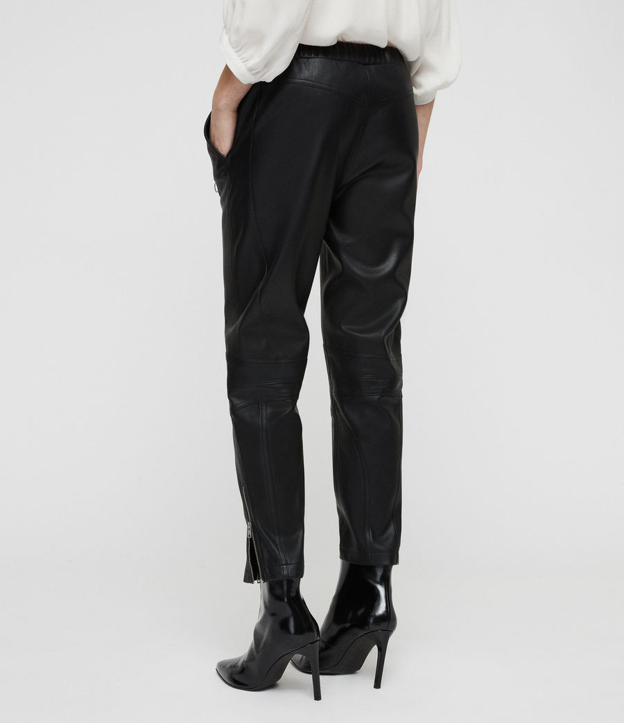 Women's Tinsley Trousers (black) - Image 7