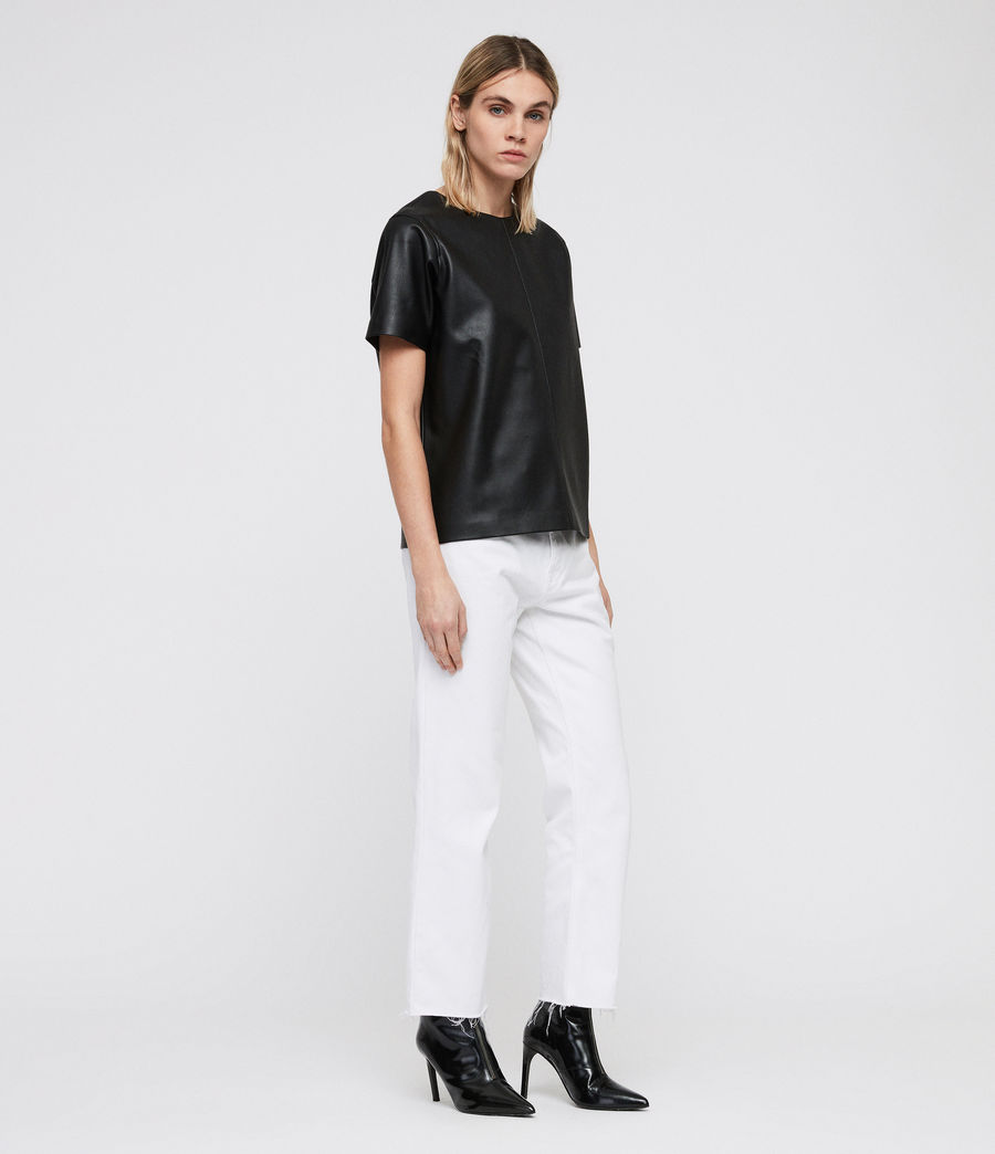 Women's Taylor T-Shirt (black) - Image 3