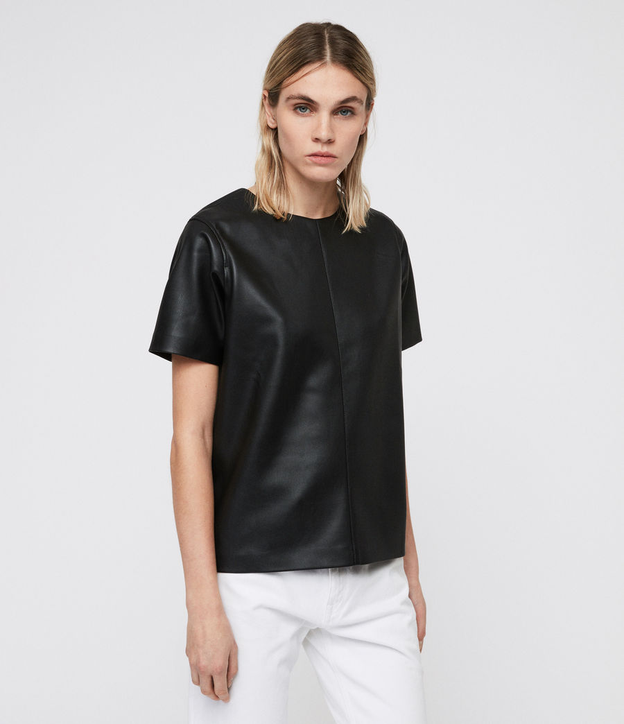 Damen Taylor T-Shirt (black) - Image 4
