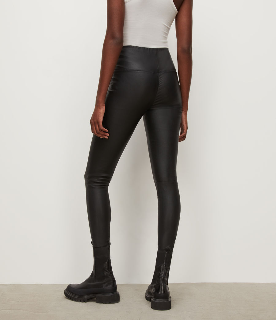 Women's Cora High-Rise Leggings (black) - Image 3