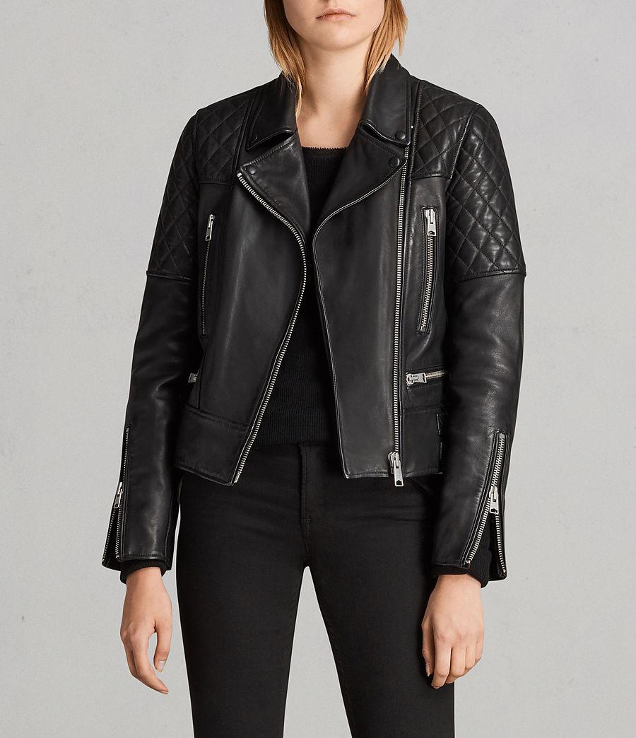 Mujer Cazadora biker Esher (black) - Image 1