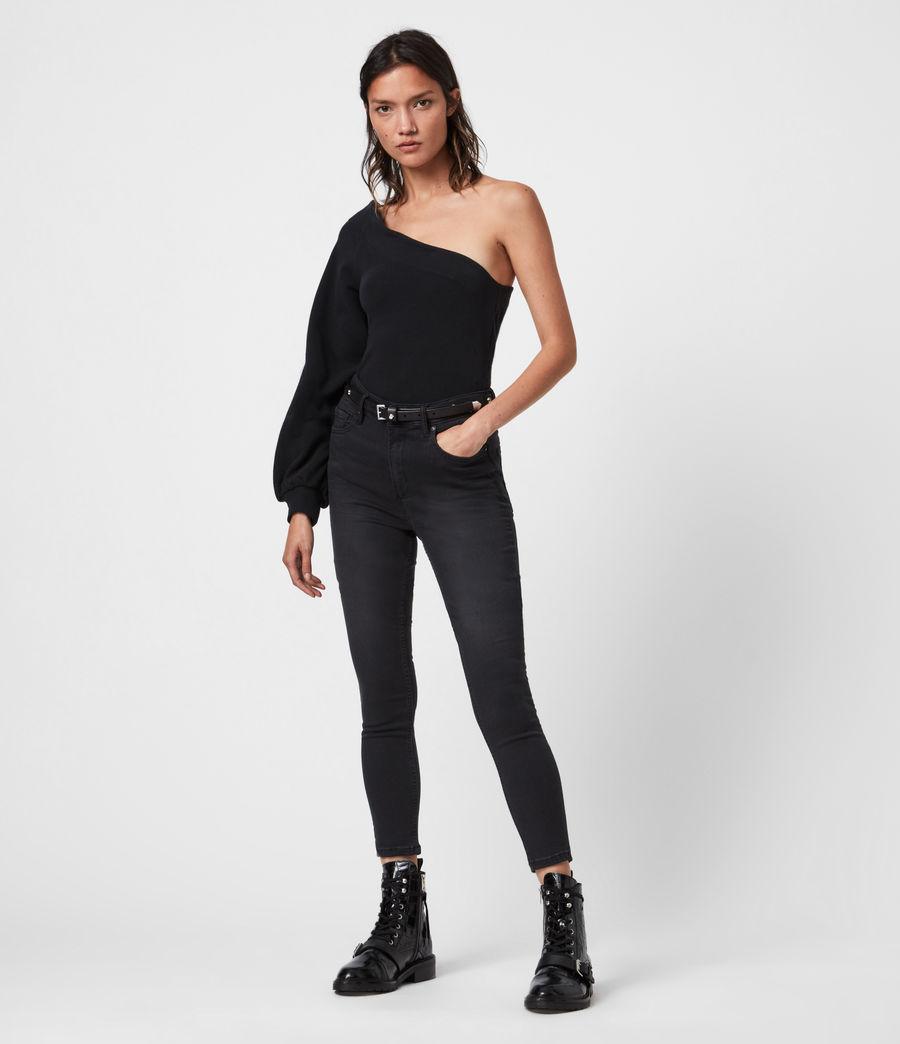 Womens Eloise Sweatshirt (black) - Image 1