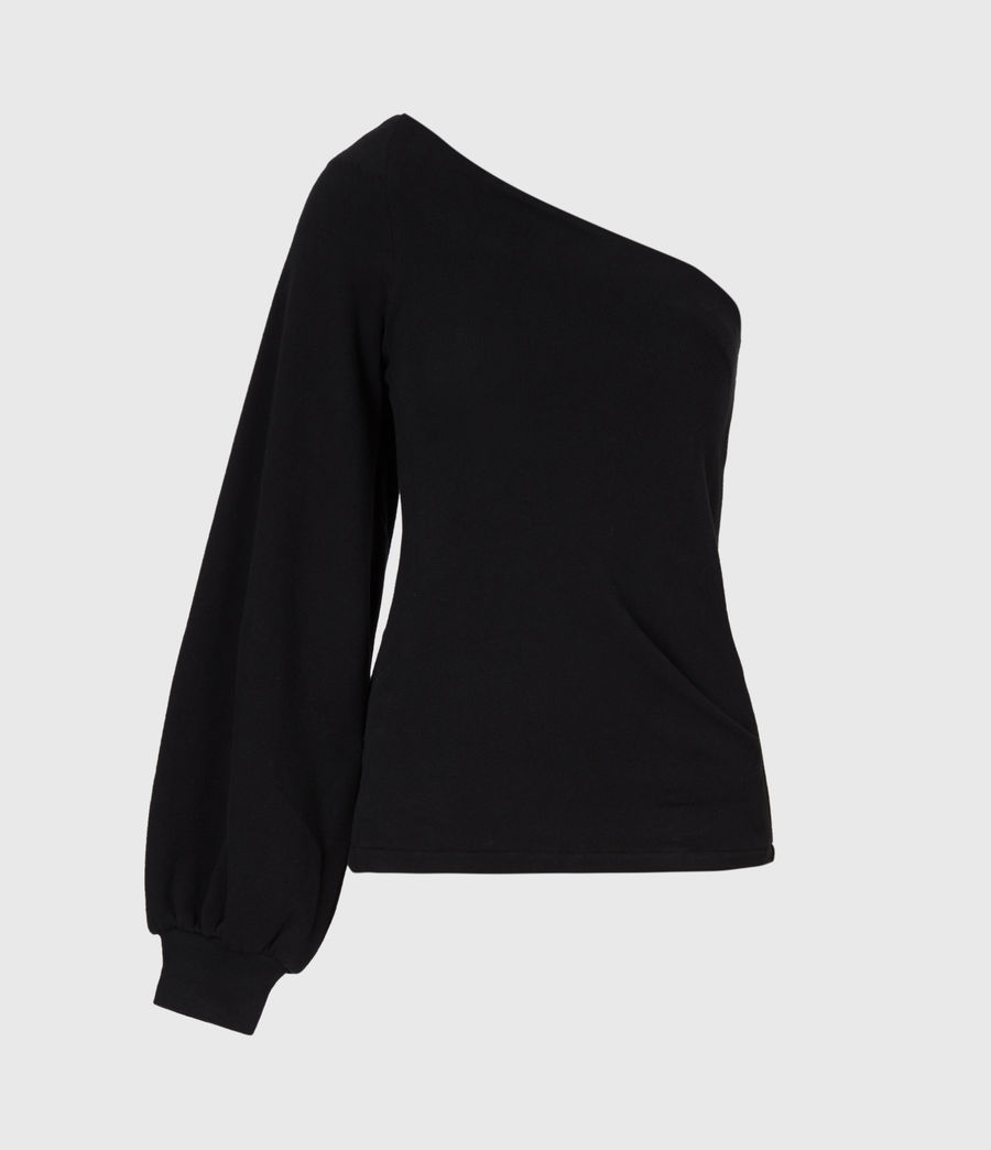 Womens Eloise Sweatshirt (black) - Image 2
