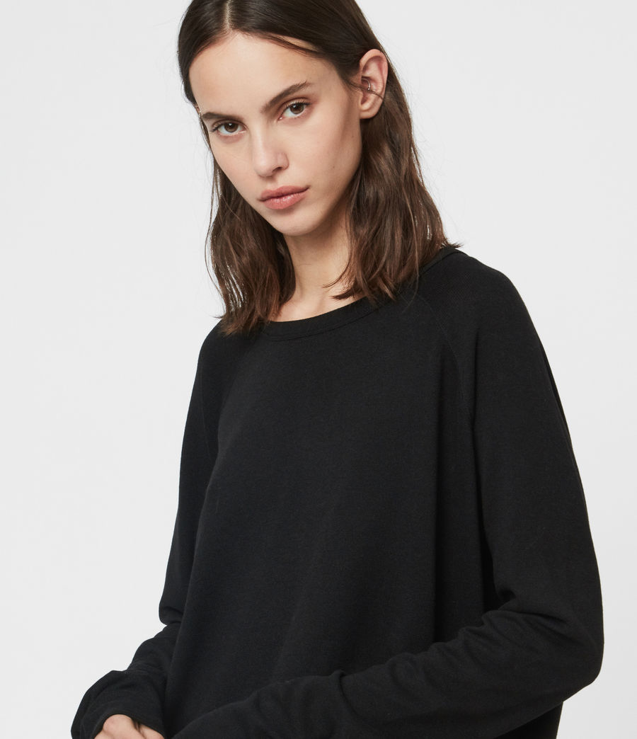 Donne Maglia Milly (black) - Image 2