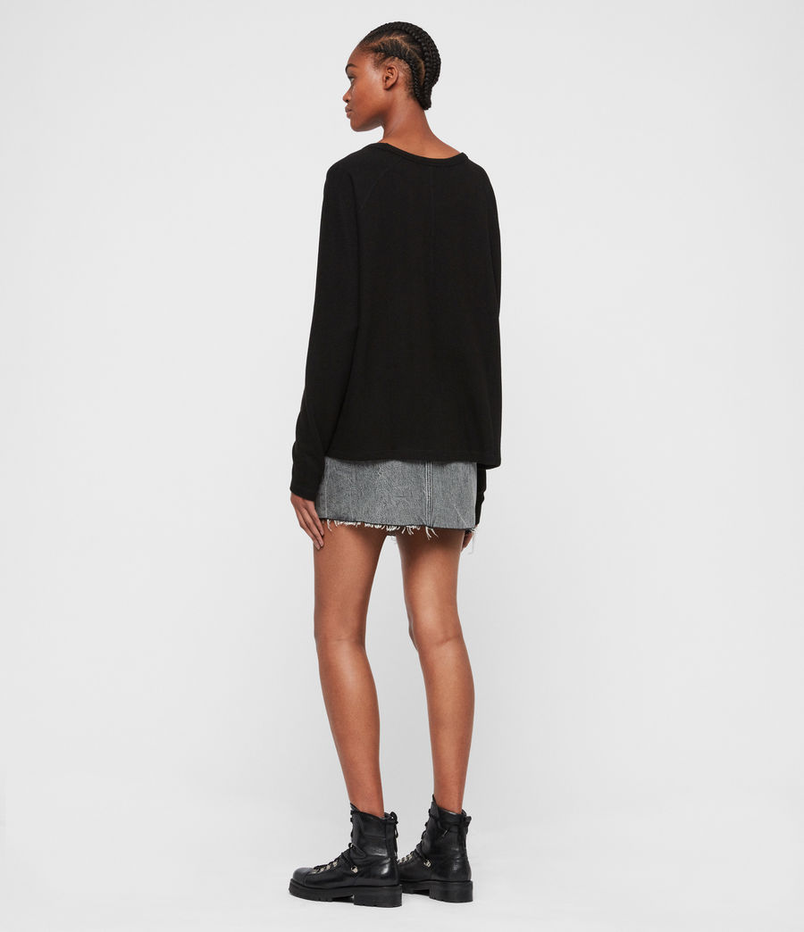Donne Maglia Milly (black) - Image 7