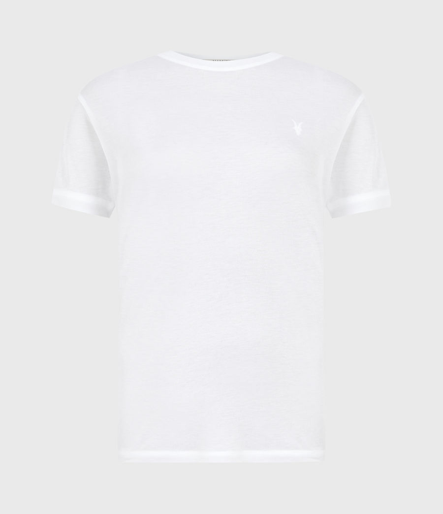 Womens Francesco T-Shirt (chalk_white) - Image 2