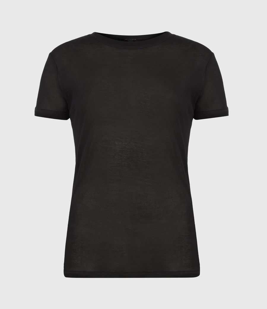 Donne Francesco T-Shirt (black) - Image 2