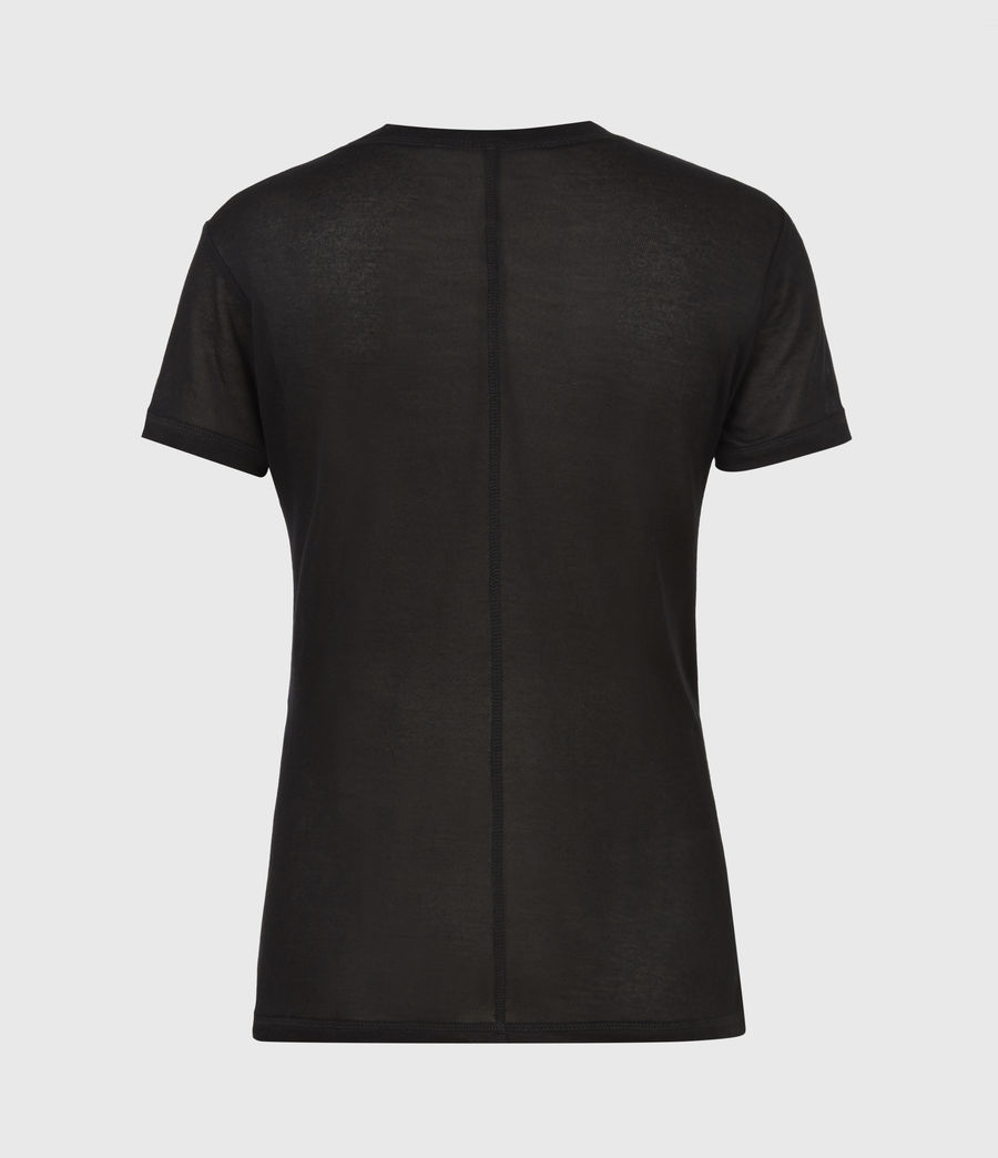 Donne Francesco T-Shirt (black) - Image 3