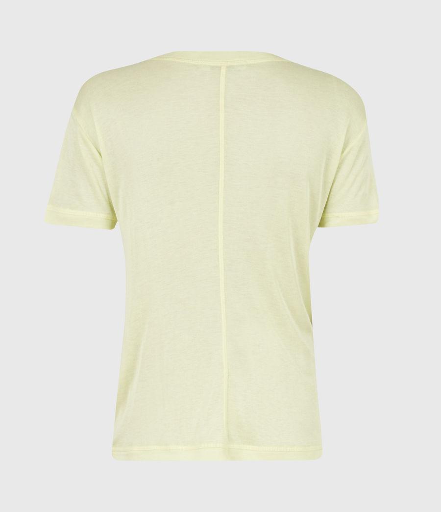 Women's Francesco T-Shirt (chalk_white) - Image 3