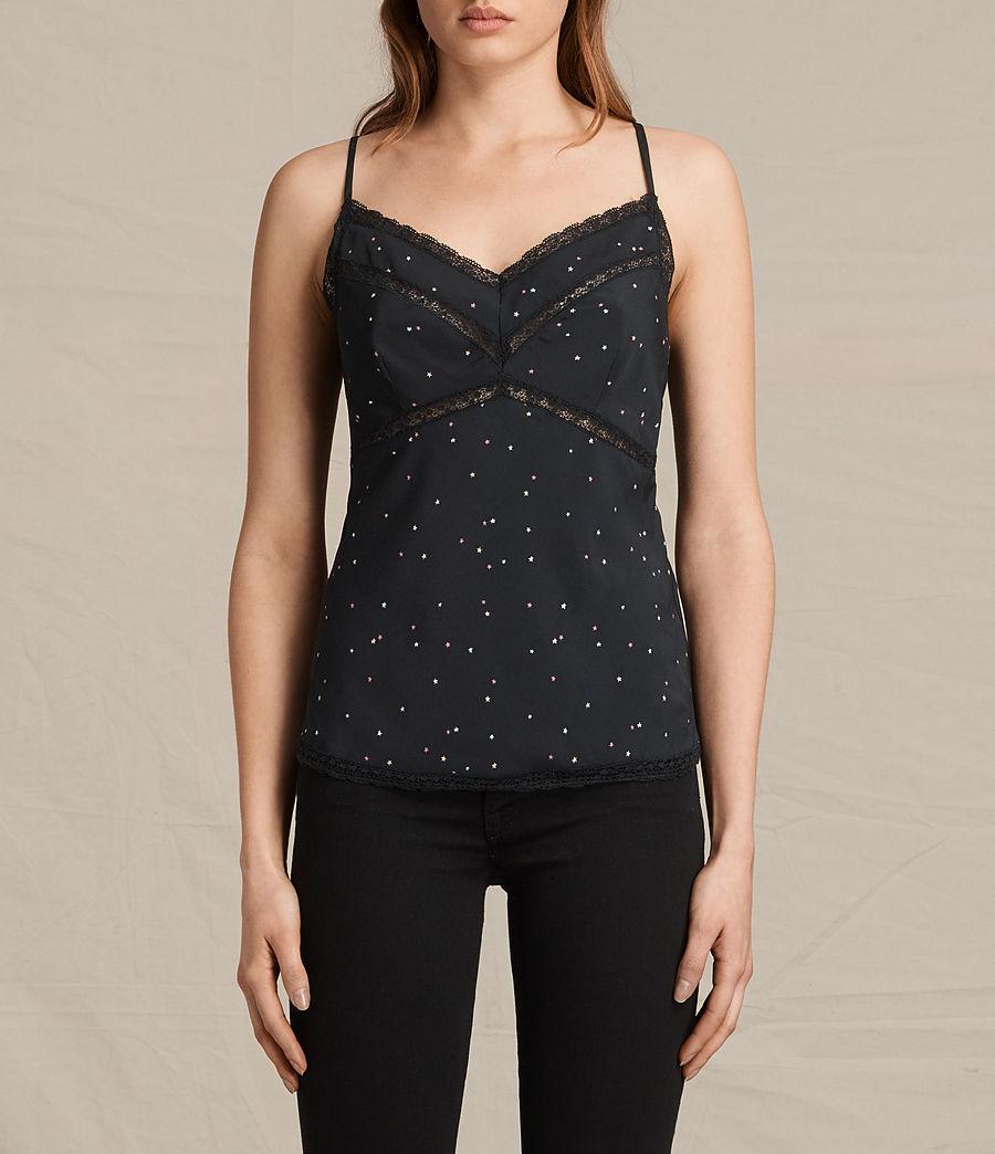 Mujer Camiseta Star Print (black) - Image 1