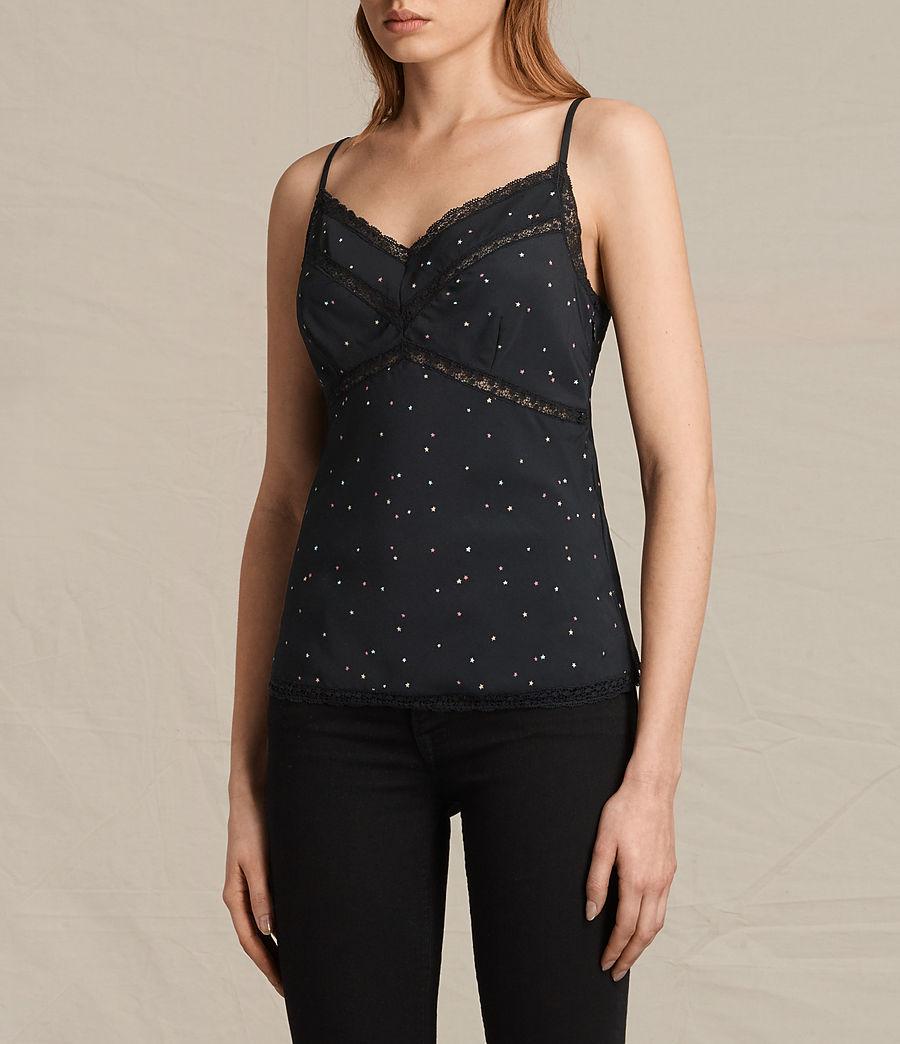 Mujer Camiseta Star Print (black) - Image 3
