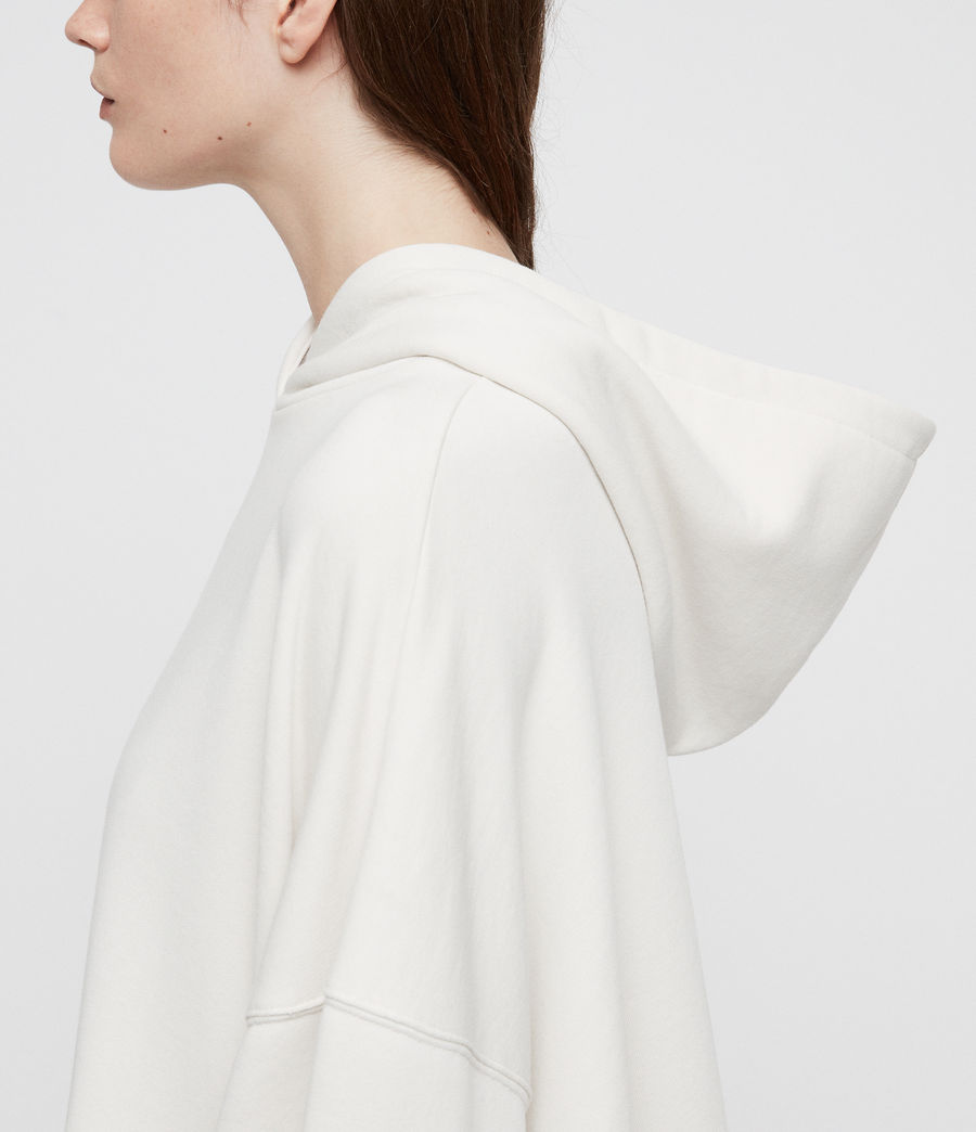 Damen Harmon Kapuzenpullover (ivory_white) - Image 5
