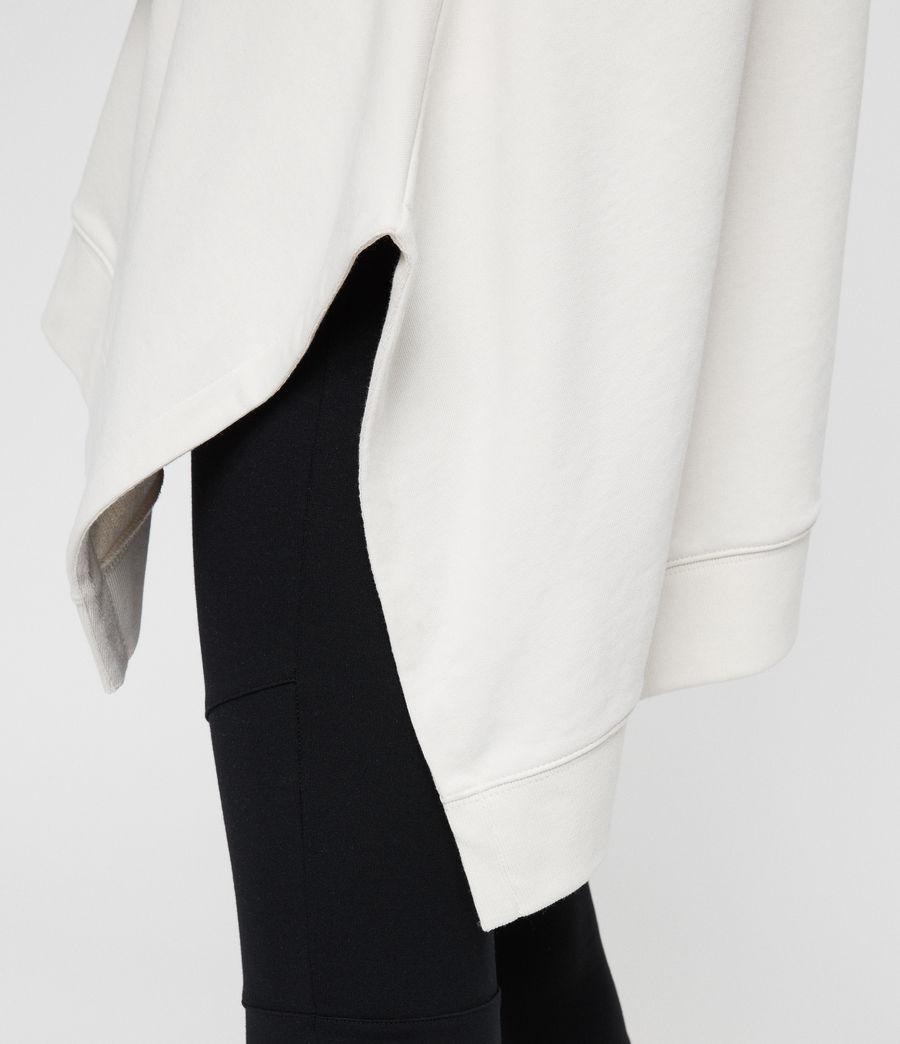 Damen Harmon Kapuzenpullover (ivory_white) - Image 6