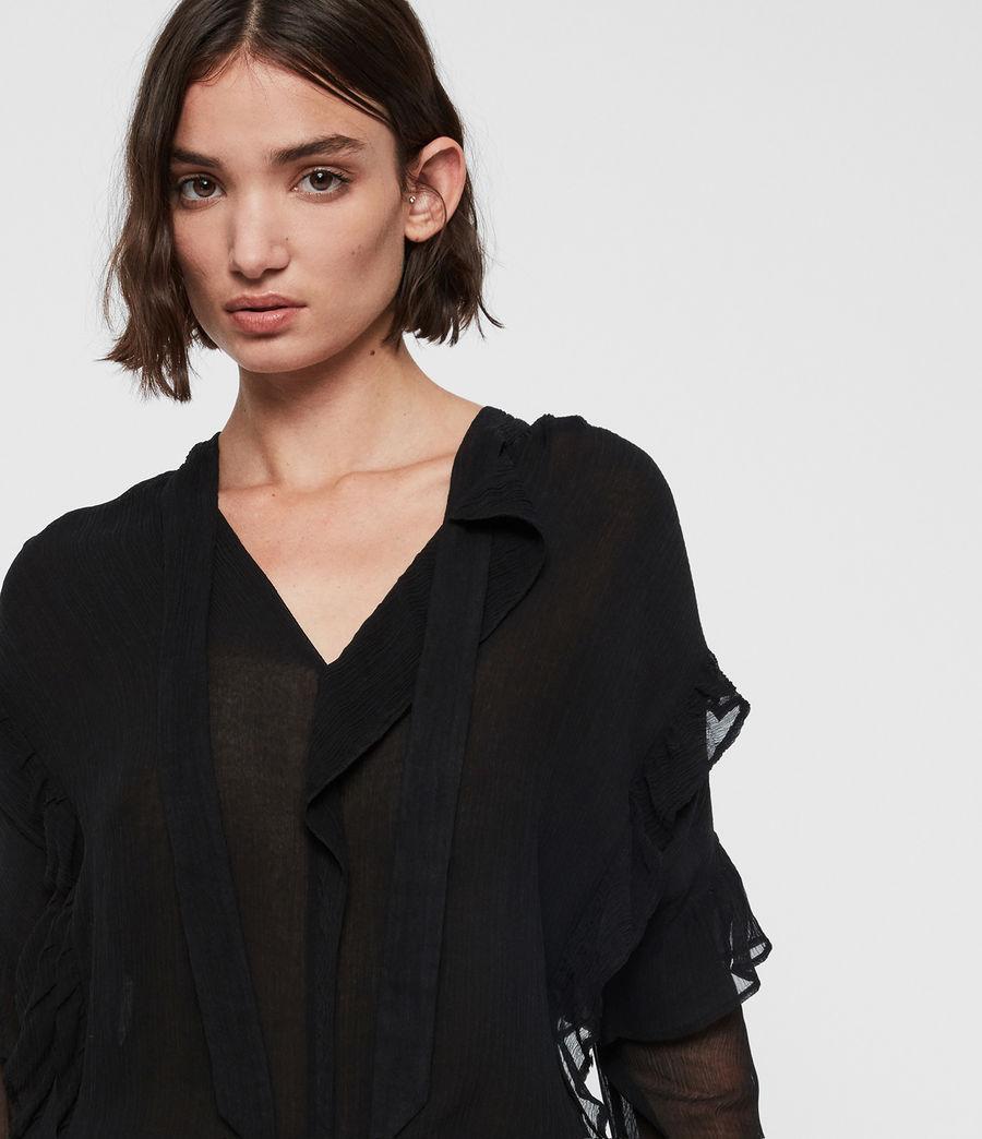 Women's Sofia Top (black) - Image 2