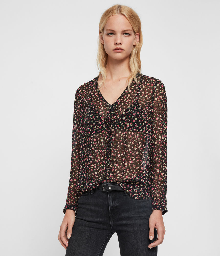 Mujer Top Floral Eliana Ditz (pink) - Image 1