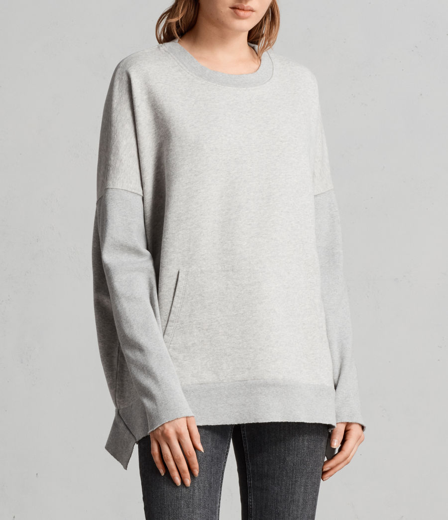 Femmes Sweat Ivy (grey_marl) - Image 1