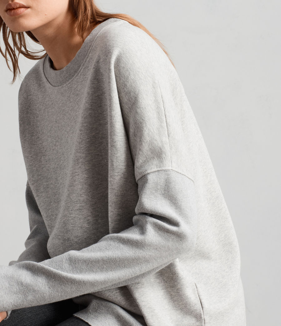 Femmes Sweat Ivy (grey_marl) - Image 2