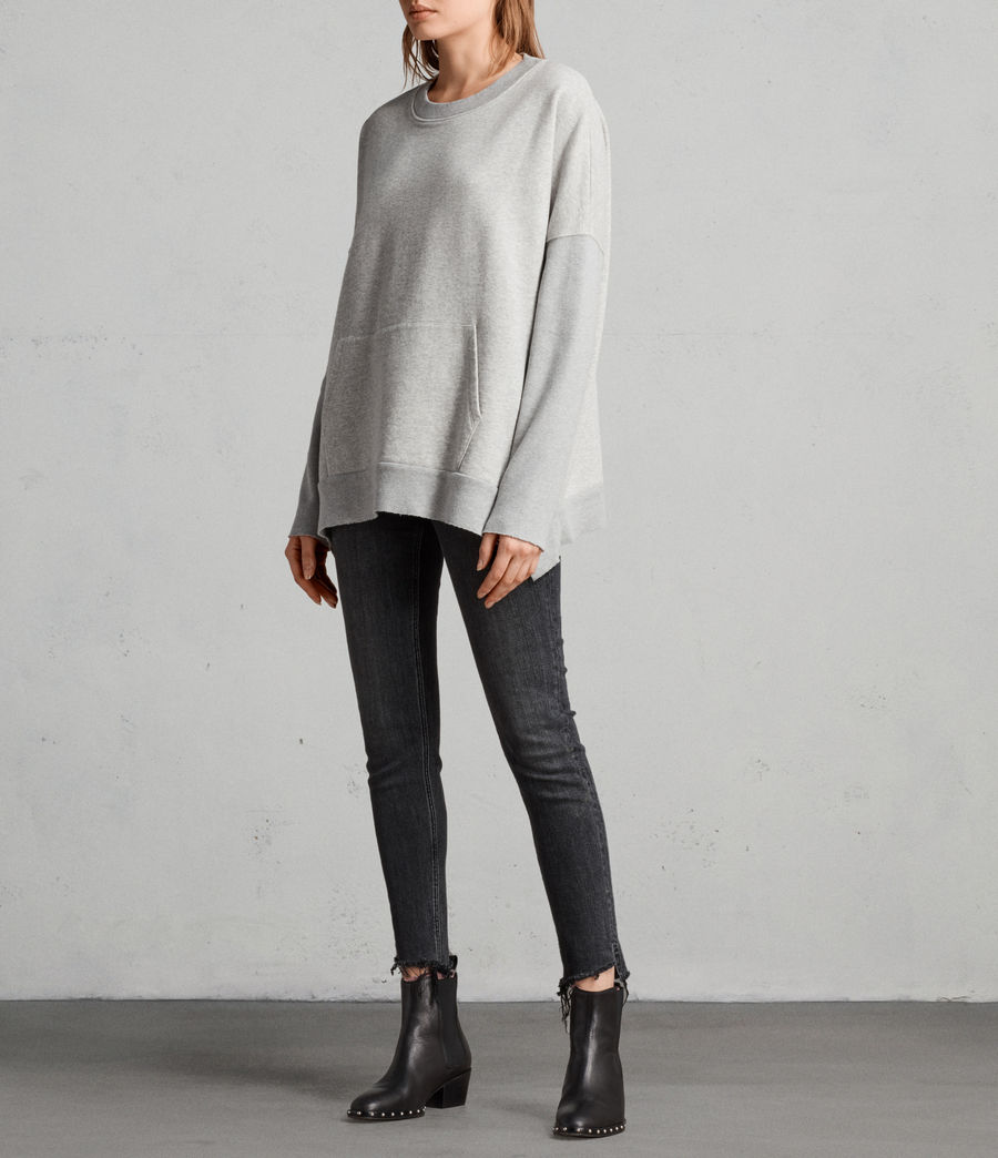 Femmes Sweat Ivy (grey_marl) - Image 3