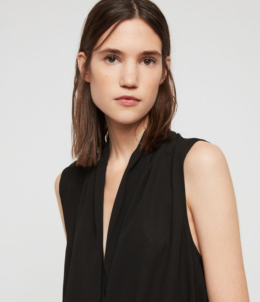 Womens Ami Top (black) - Image 2