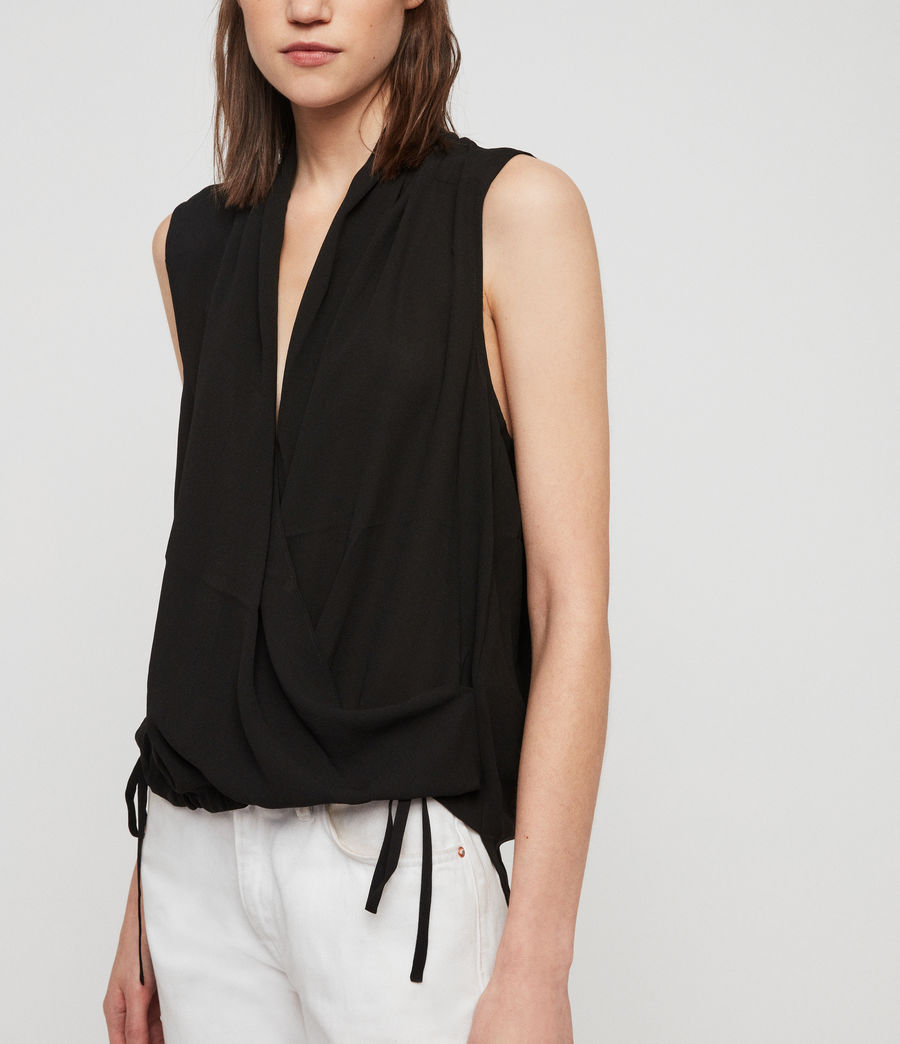 Womens Ami Top (black) - Image 4