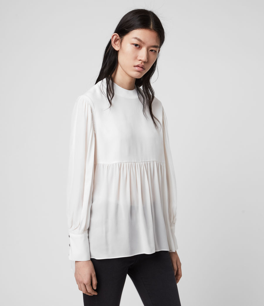 Damen Fayre Top (chalk_white) - Image 3