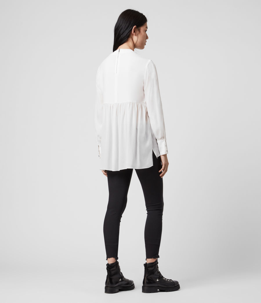 Damen Fayre Top (chalk_white) - Image 4