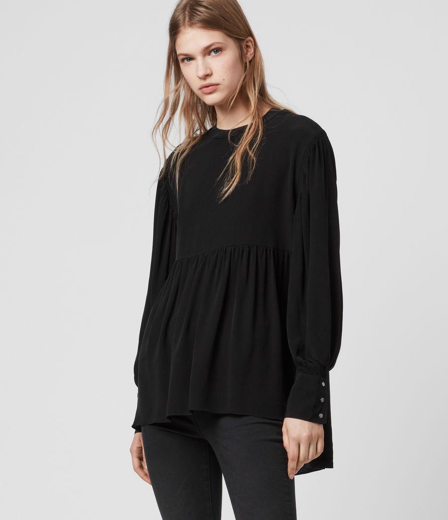 Womens Fayre Top (black) - Image 1