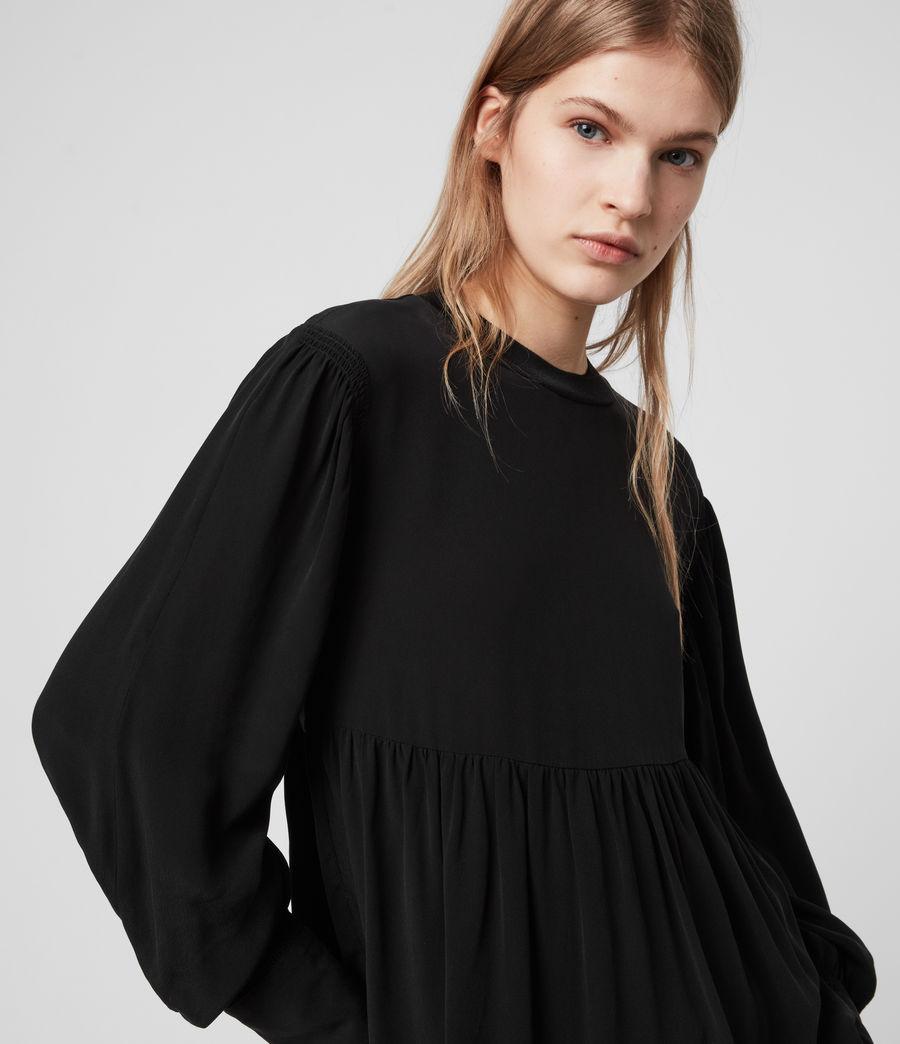Womens Fayre Top (black) - Image 2