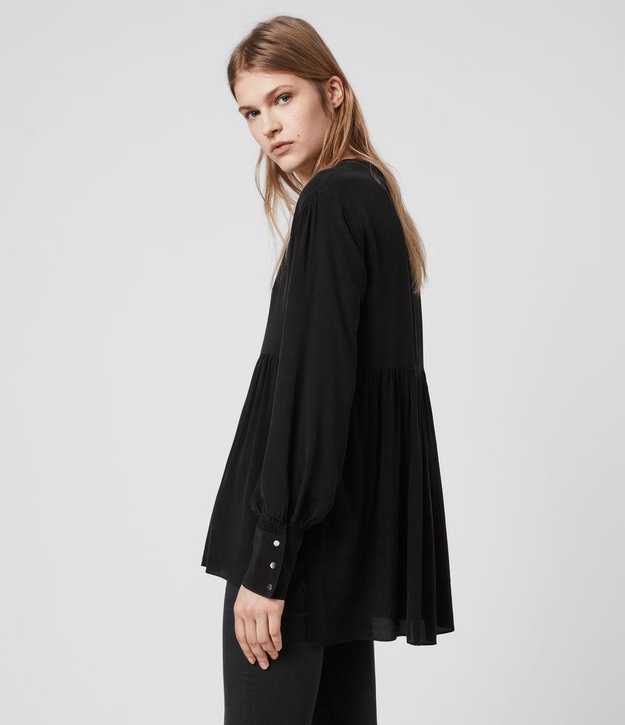 Womens Fayre Top (black) - Image 5