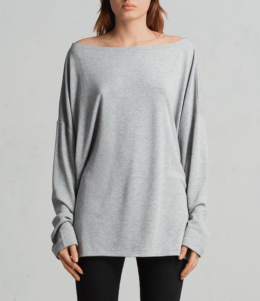 Donne T-shirt Rita (grey_marl) - Image 1