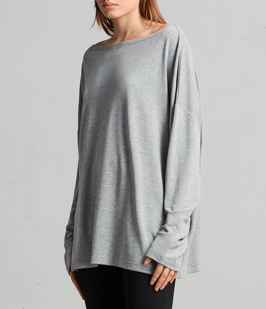 Donne T-shirt Rita (grey_marl) - Image 3