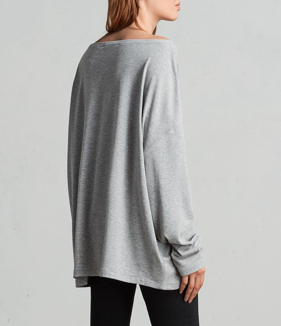 Donne T-shirt Rita (grey_marl) - Image 4