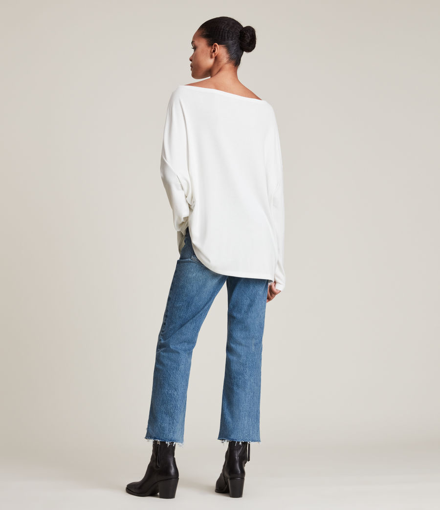 Women's Rita Top (chalk_white) - Image 4