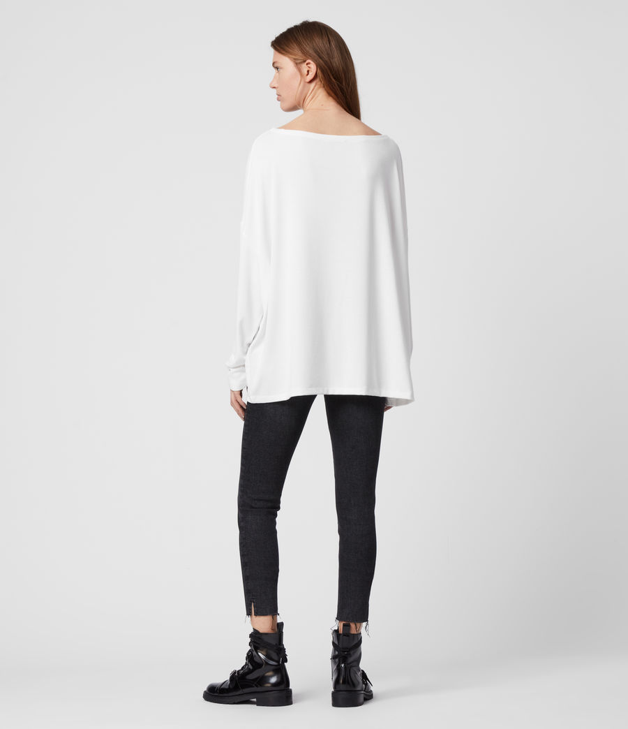 Women's Rita Top (chalk_white) - Image 5