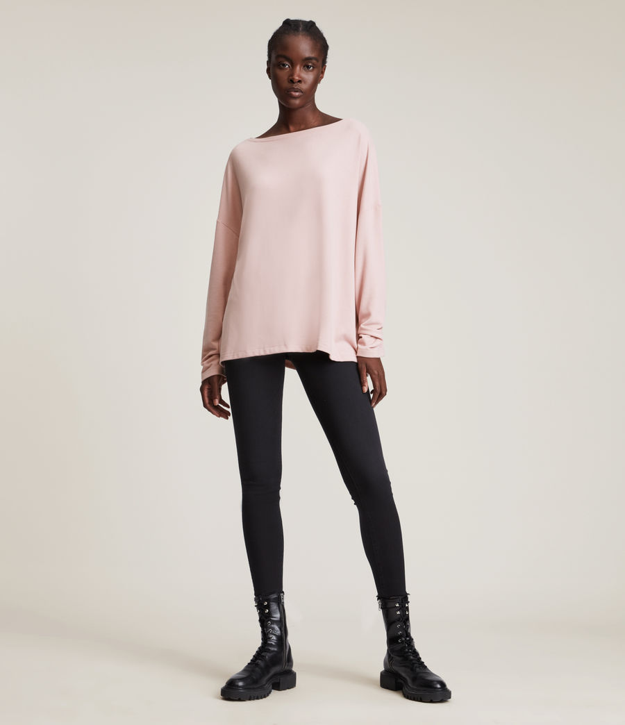 Womens Rita T-Shirt (petal_pink) - Image 3