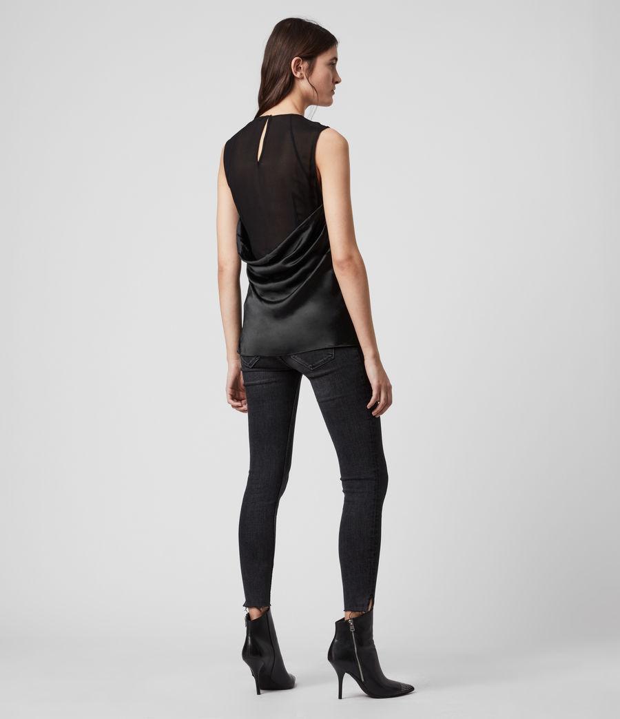 Womens Carlotta Top (black) - Image 5