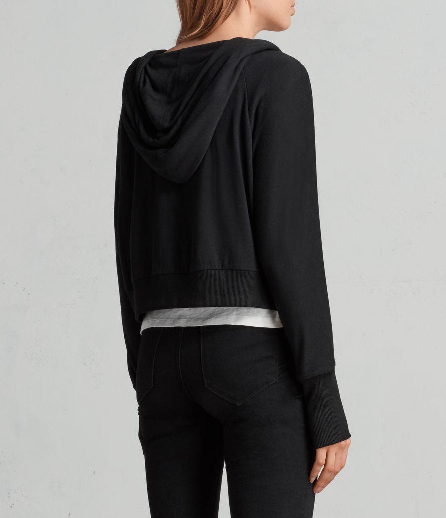 Mujer Sudadera con capucha Darcie (black) - Image 4