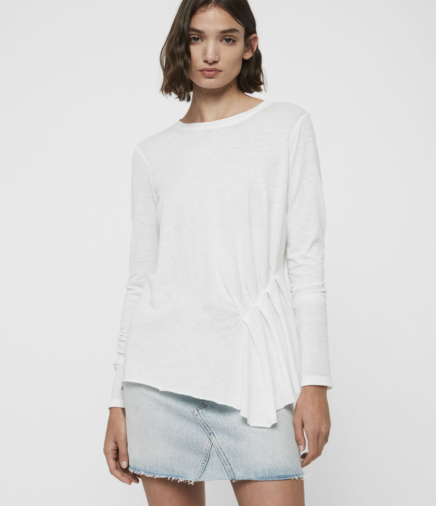 Women's Duma T-Shirt (smog_white) - Image 1