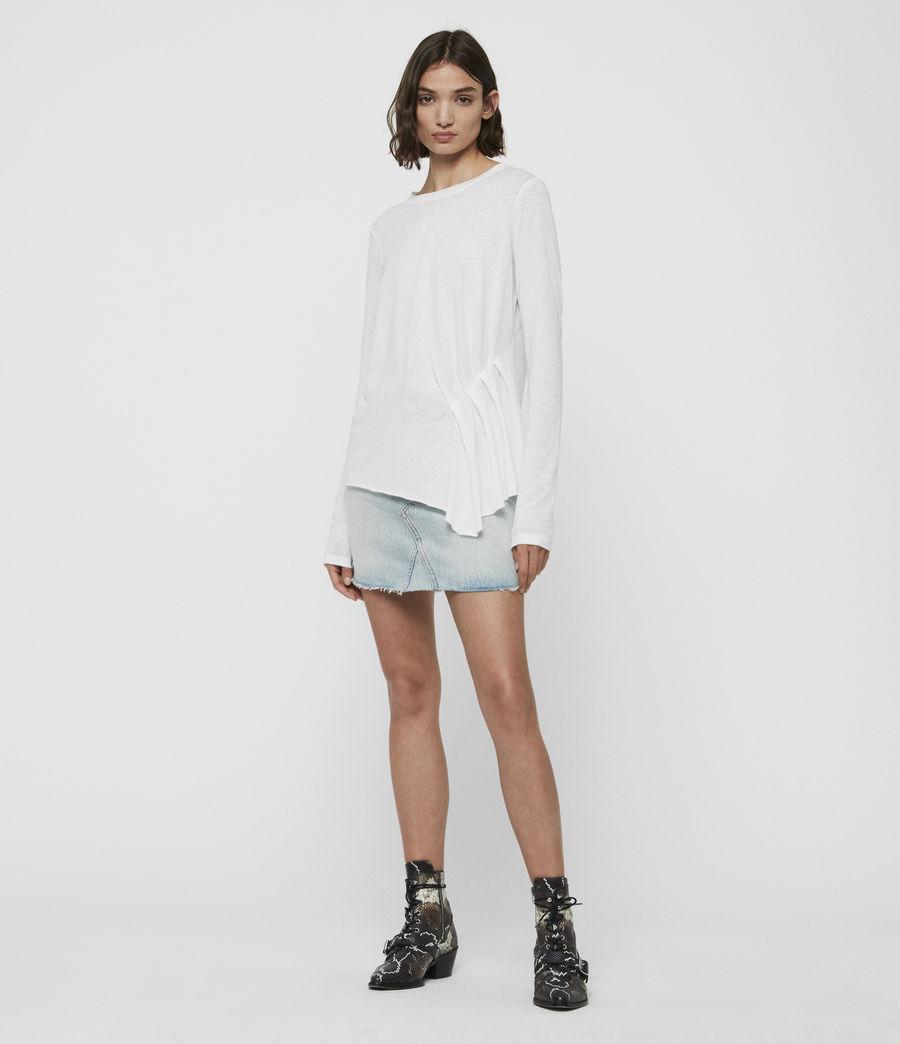 Women's Duma T-Shirt (smog_white) - Image 2