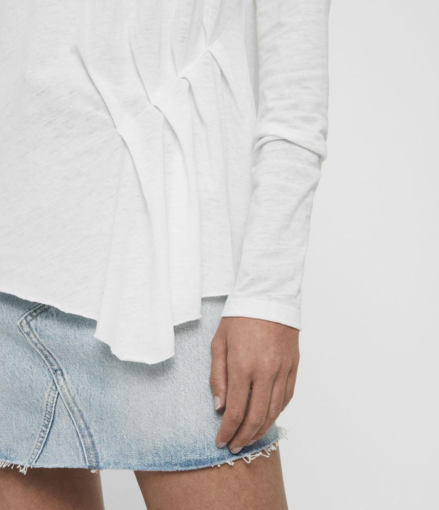 Women's Duma T-Shirt (smog_white) - Image 3