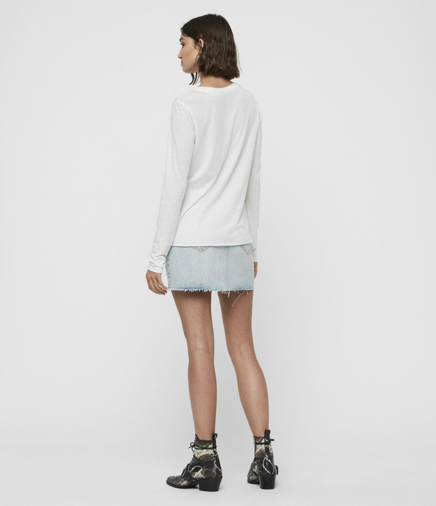 Women's Duma T-Shirt (smog_white) - Image 4