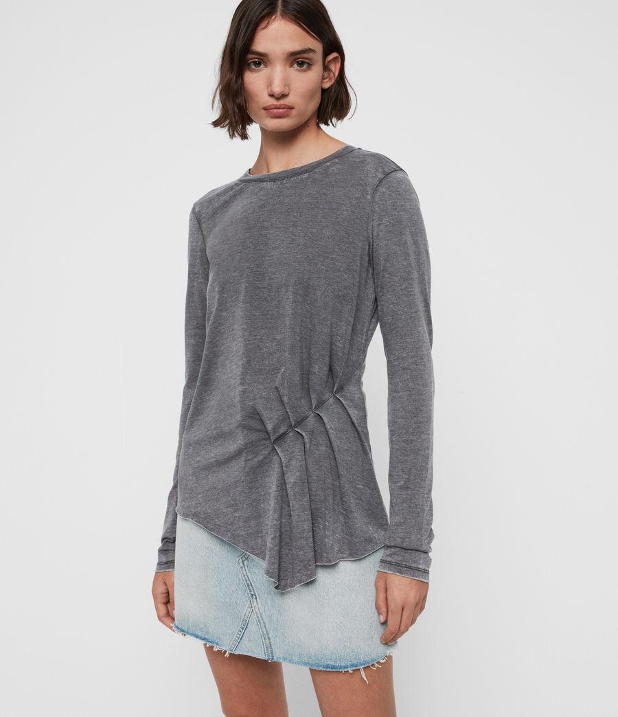 Women's Duma T-Shirt (coal_grey) - Image 1